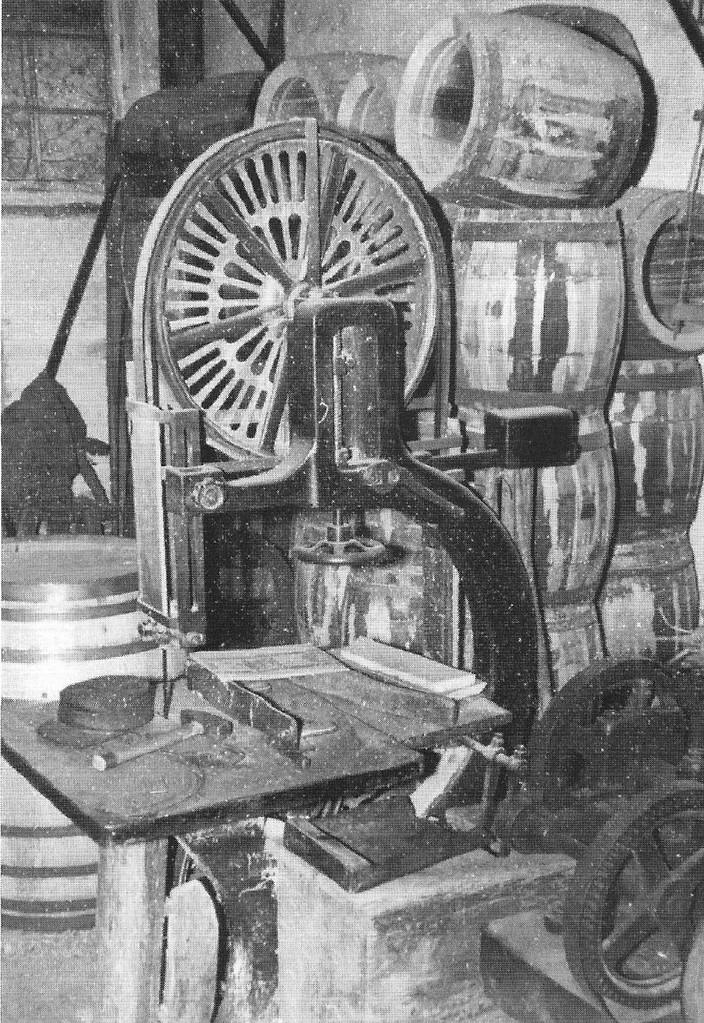 Blick in die Büttner-Werkstatt Schauer, 1958.
