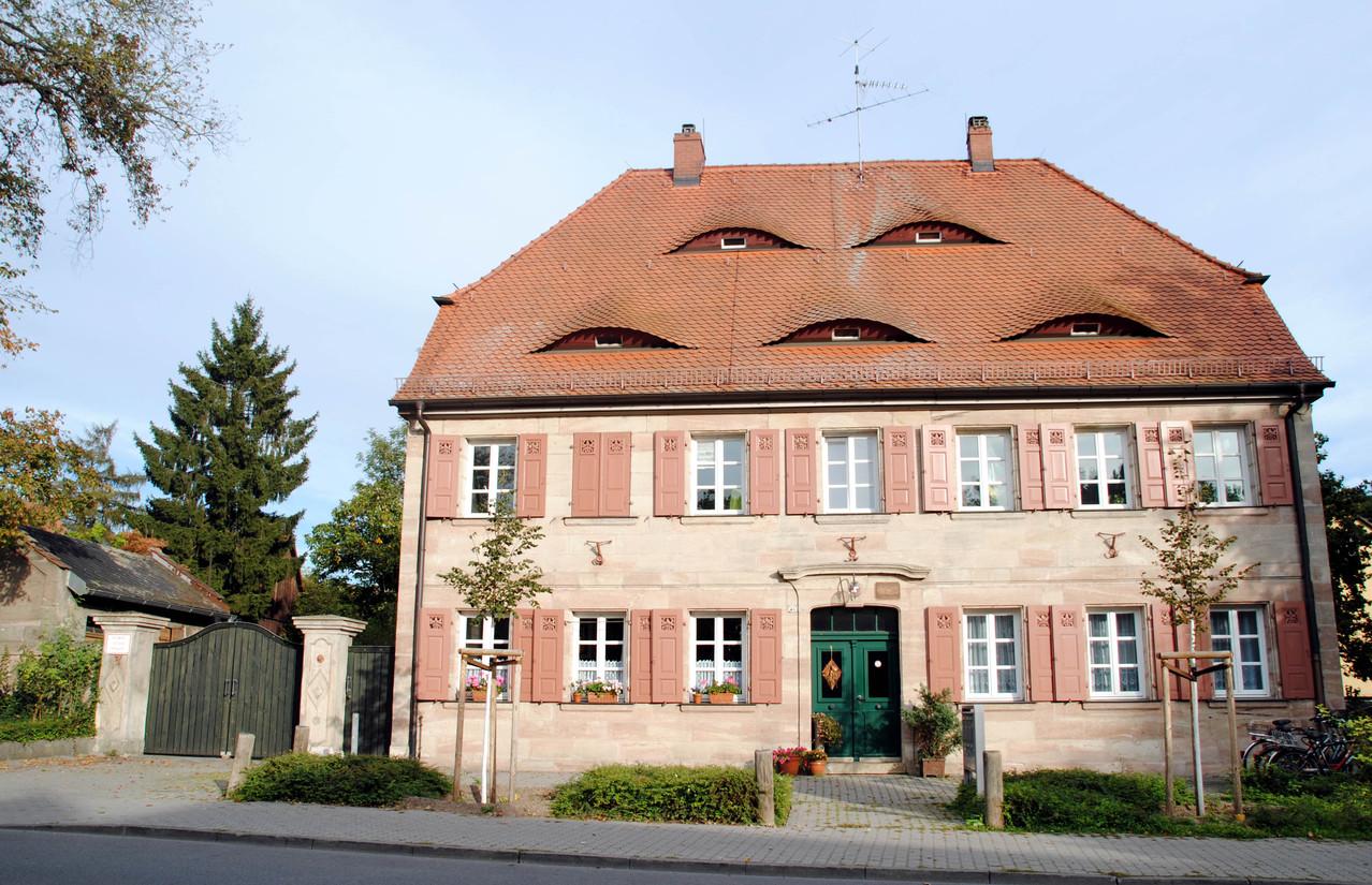 """In der Wohnung rechts neben der Eingangstür lebten """"Geißer-Oma"""" und """"Oda"""""""