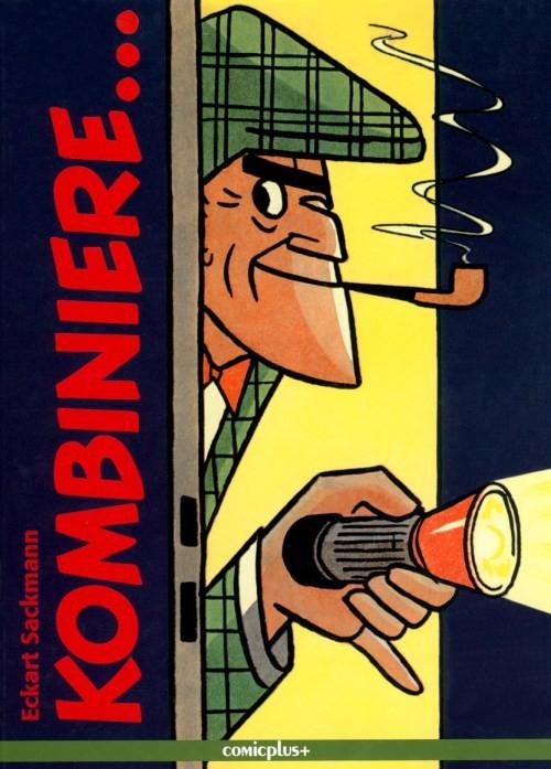 """Nick Knatterton, der Comic-Strip-Kriminalist aus der Zeitschrift """"Bunte""""- hier als Buchtitel"""