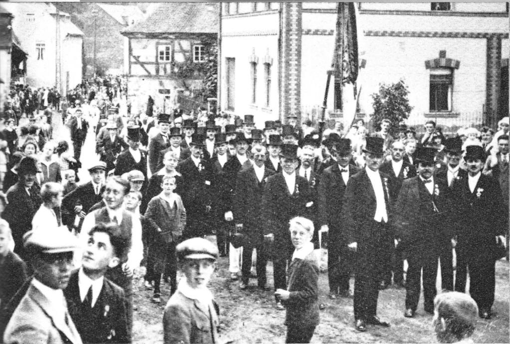 Sängertreffen 1924
