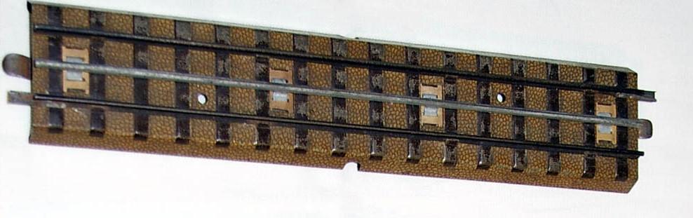 Märklin-Modellbahngleis der Spurweite H0 in den 1950er Jahren