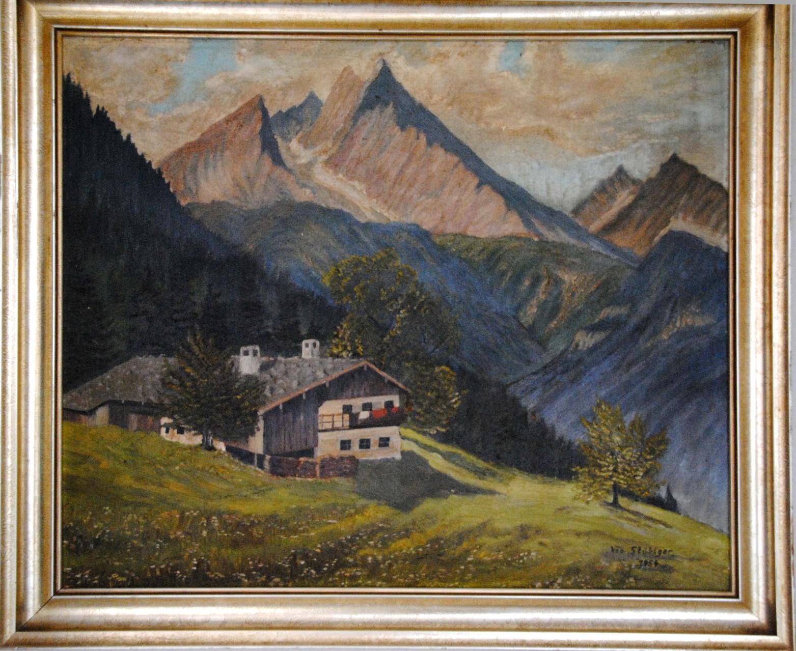 Dieses Bild malte mein Vater 1954