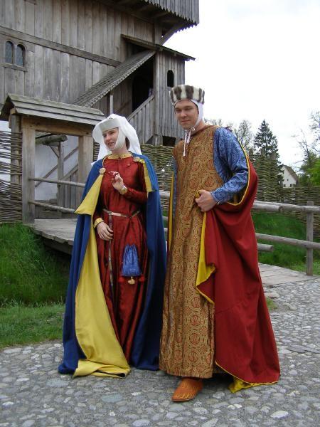 Kanzach: Mittelalter-Darsteller/ Edelleute