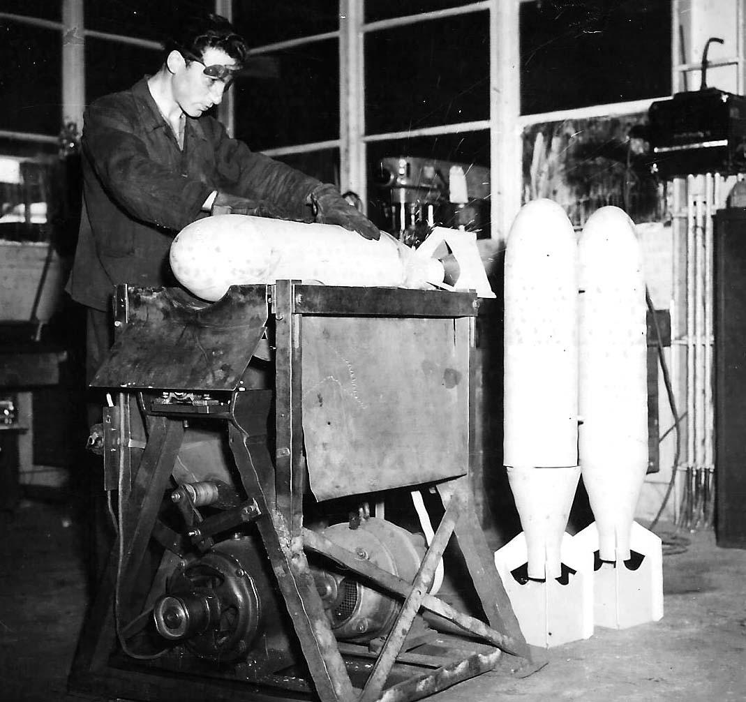 Arbeitseinsatz Bomben-Demontage