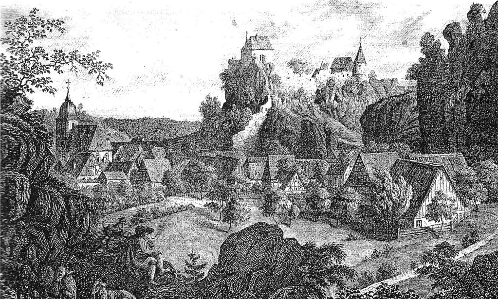 Die Betzensteiner Burgen, 1844
