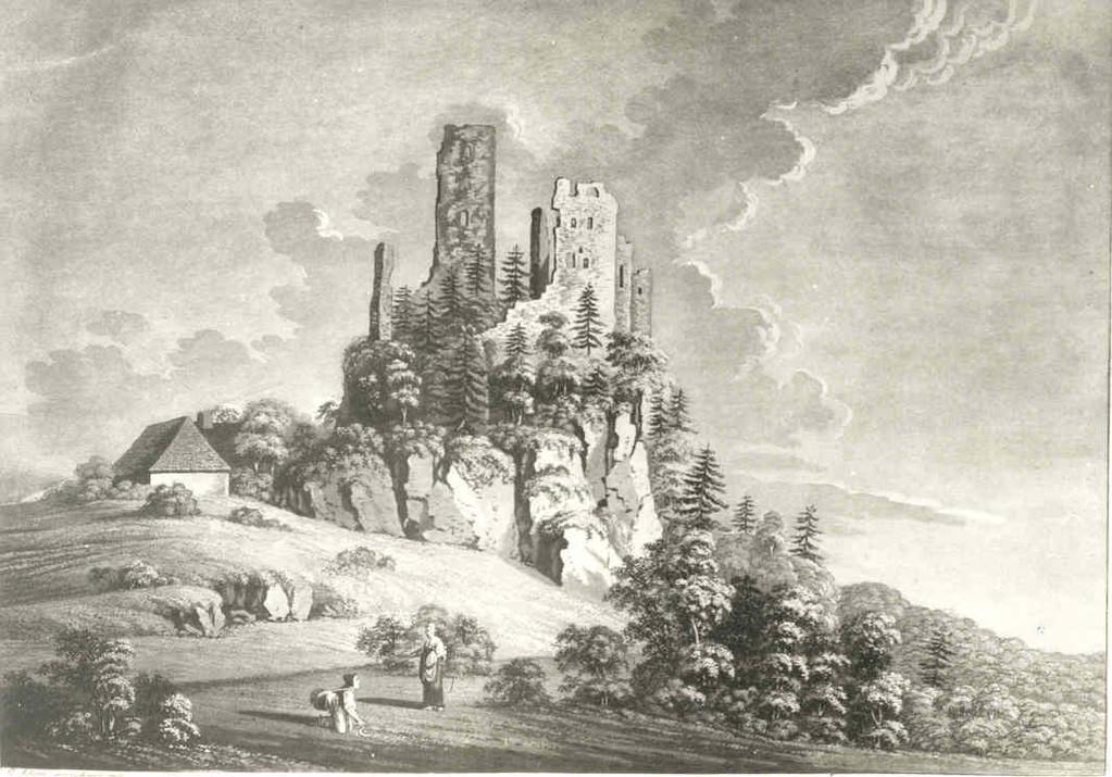 Burgruine Wildenfels, 1803