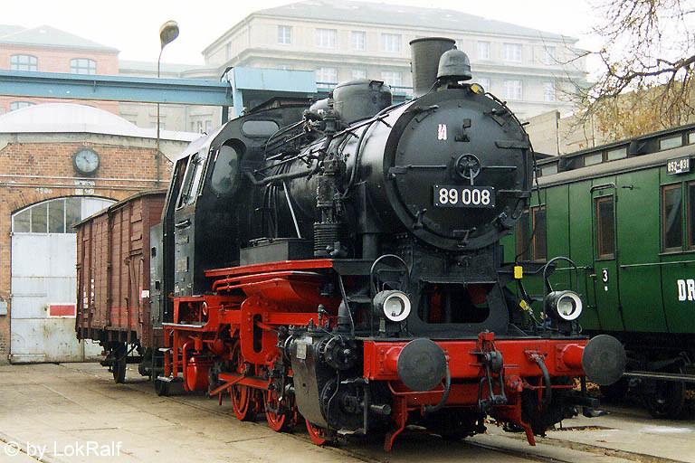 Die Bahn-Baureihe 89: das Vorbild unserer ersten Modellbahn-Lok