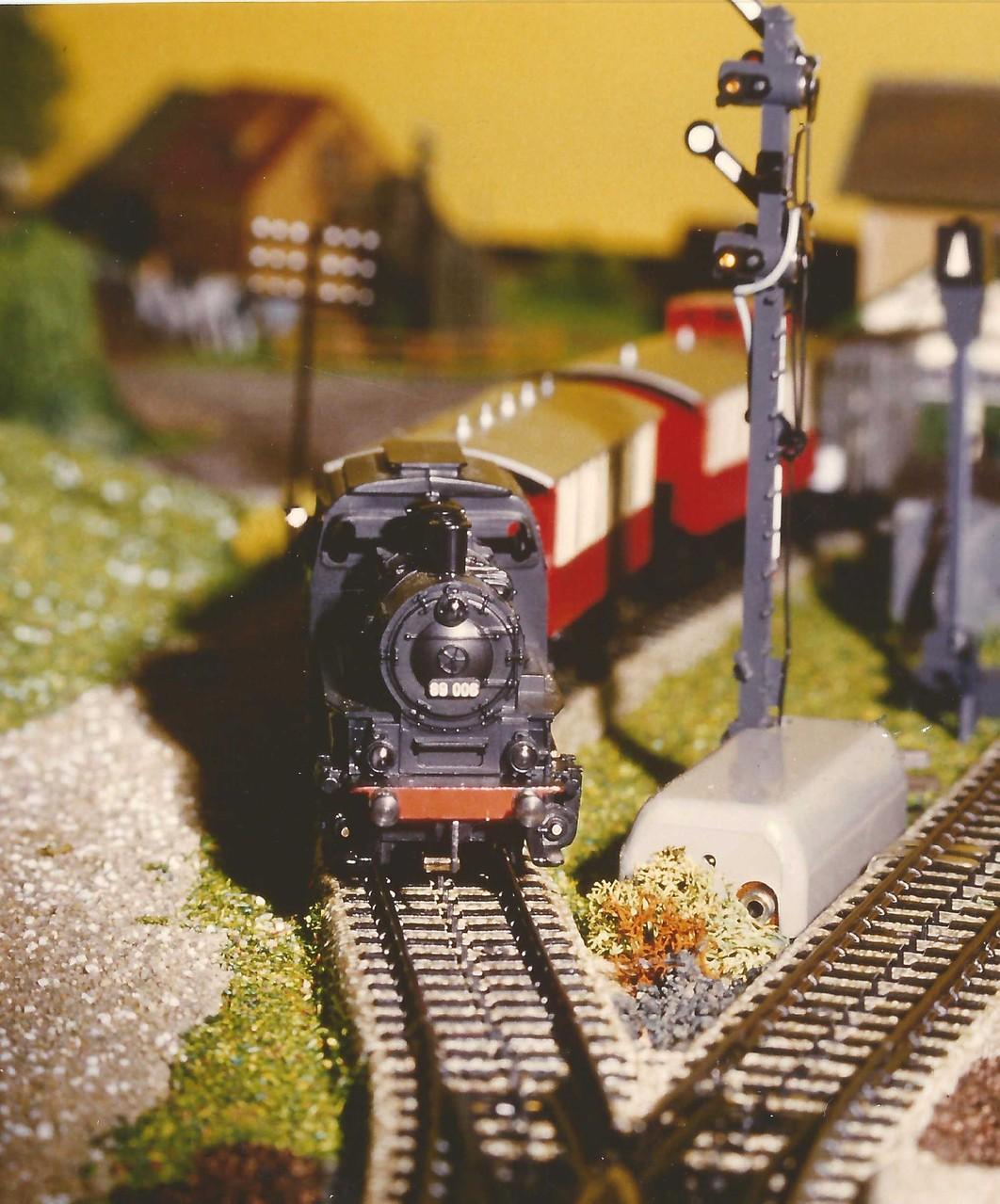 1984: Dampflok BR 89 im Einsatz...