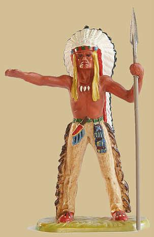 Elastolin-Indianer...