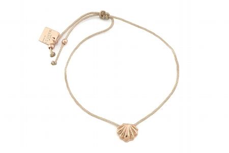 "Armband ""Singel Muschel"", rosegold, 22€"