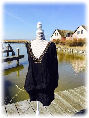 Dress Palma black, groß geschnittene one size, 59€ /  -50%  auch in mocha erhältlich