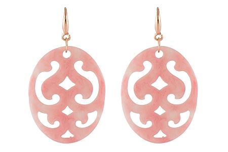 "Ohrringe ""Boise"" soft pink, 18€"
