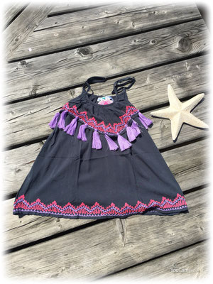 Bali Sensasi Dress Pom Pom grey, 59€