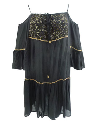 Dress Antonella, black/gold, one size 69€ / -50%