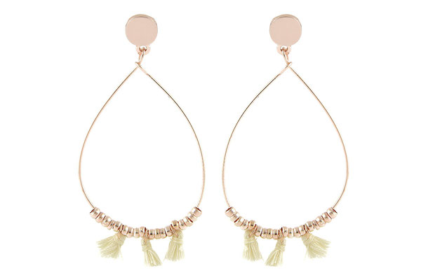 "Ohrringe Raindrops""cream"" 22€ - 20%"