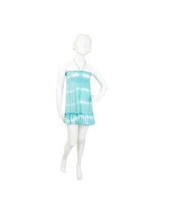 Dress Lana, türkis, auch erhältlich in mandarine, Gr 4/6/8/10/12, 34,90€