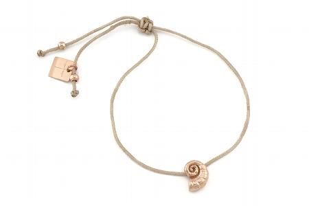 "Armband ""Schnecke"", rosegold, 22€"