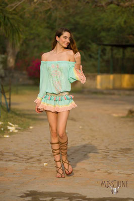Miss June Dress Kate, mint, one size, 109€ -30%