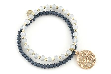 """Armband """"Deep Blue"""" 19€"""
