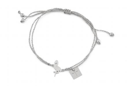 "Armband ""Flamingoisland"" silver, 22€ out of stock"