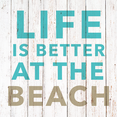 "Servietten ""Life is better at the beach""  33x33cm 4,60€"