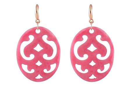 "Ohrringe ""Boise"" pink, 18€"