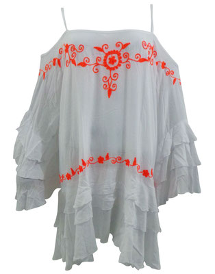 Dress Seminyak, white/orange, one size 69€ / -50%