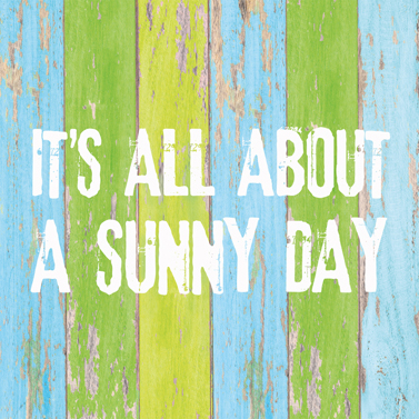 "Servietten ""It's all about a sunny day""  33x33cm 4,60€"