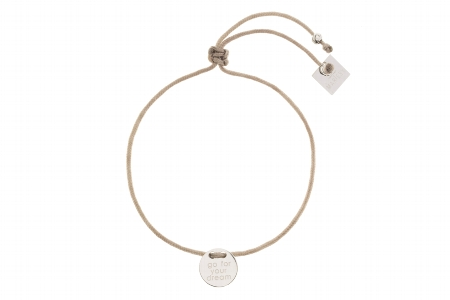 """Armband """"go for your dream"""", silver 22€ out of stock"""