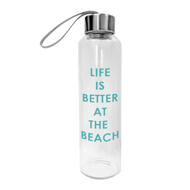 "Trinkglasflasche ""Life is better at the beach"", 16,90€"