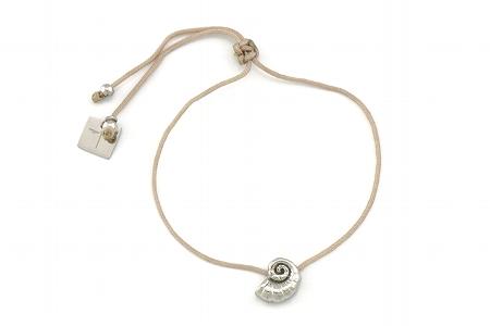 "Armband ""Schnecke"", silver, 22€"