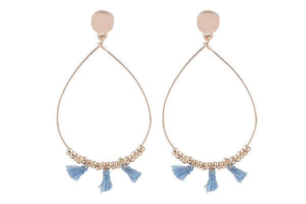 "Ohrringe Raindrops""blue"" 22€ - 20%"