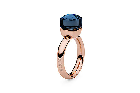 Ring rosegold, Gr 50-60, dark blue, 49,90€, ab 2 Stück mixed colours 44,90€