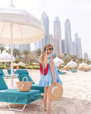 SUNDRESS Mimi Gingham Blue, in Size xs/s und M/L 139€ -40%