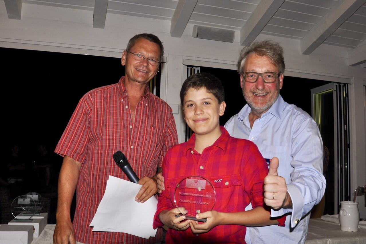 Jugend-Clubmeister: Alexander Lechner