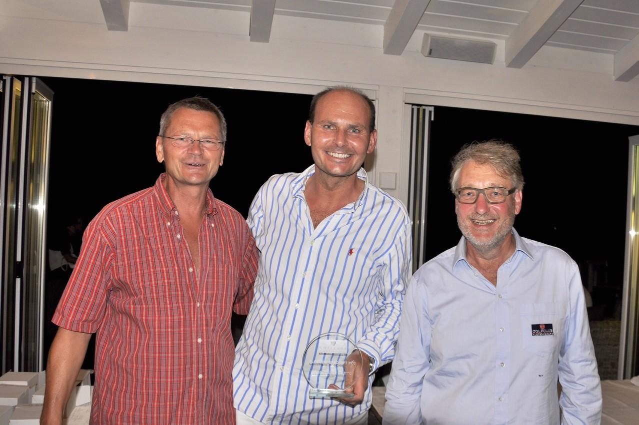 Brutto-Sieger und 1. Clubmeister des GCKlosterneuburg 2013: Josef Krapfenbauer
