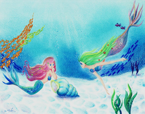夏空間~人魚~   A4