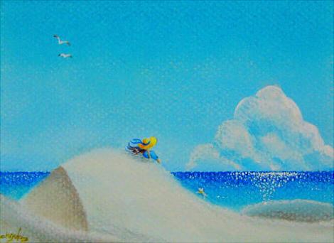夏空間 ~海~    ポストカードsize   sold out