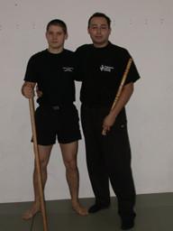 Benjamin Rittiner und Juan Obrecht