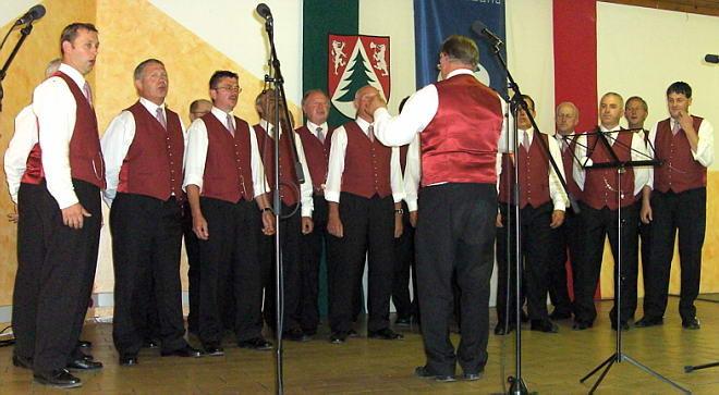 29.6.2007:Grenzlandsängerfest 60 Jahre Sängerrunde