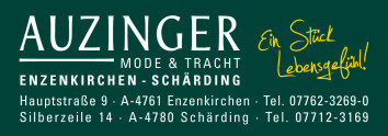 Bekleidungswerk Auzinger GmbH, Hauptstraße 9, A-4761 Enzenkirchen | Tel: +43 7762 3206-0 | bekleidungswerk.auzinger@aon.at