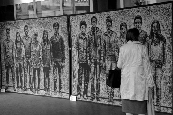Kunst gegen Ecopop - 25. Oktober 2014