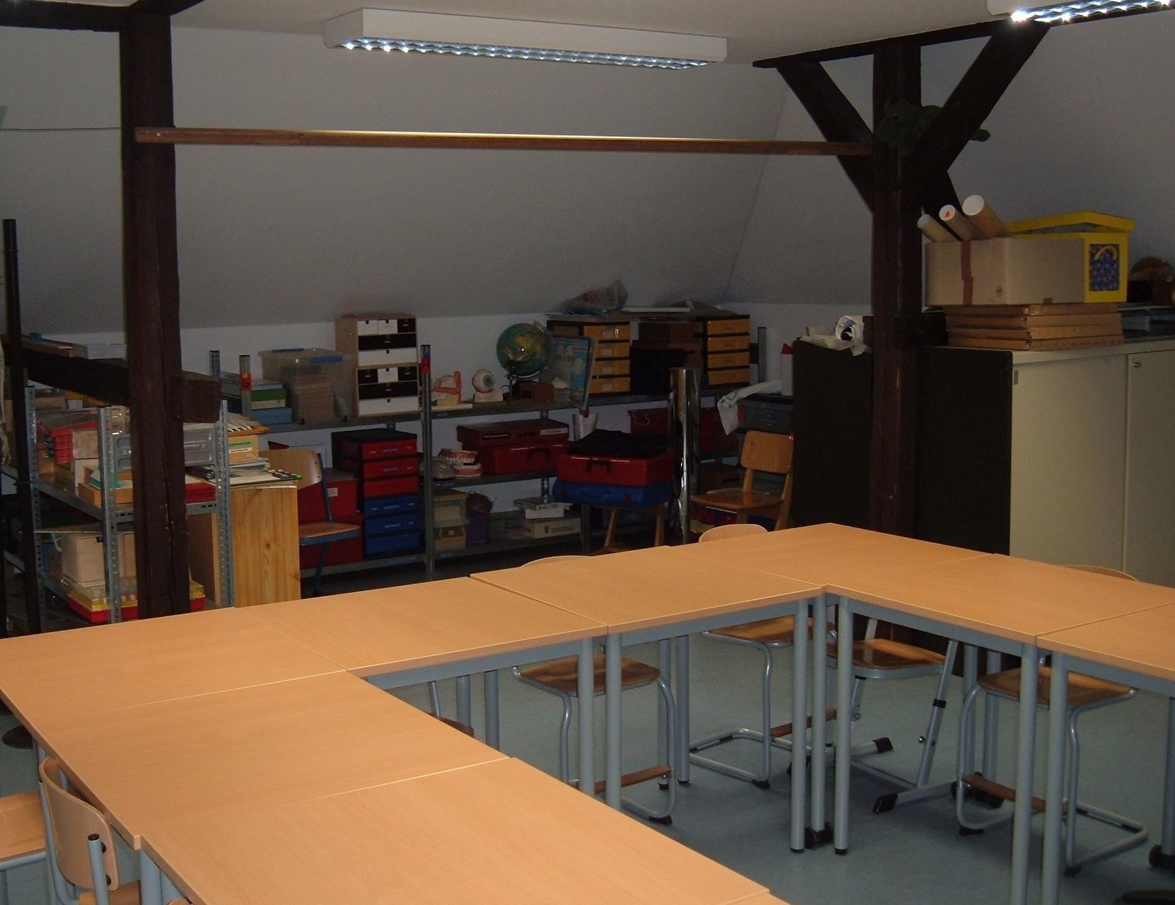 Grundschule Ziegelhütten:  Mehrzweckraum