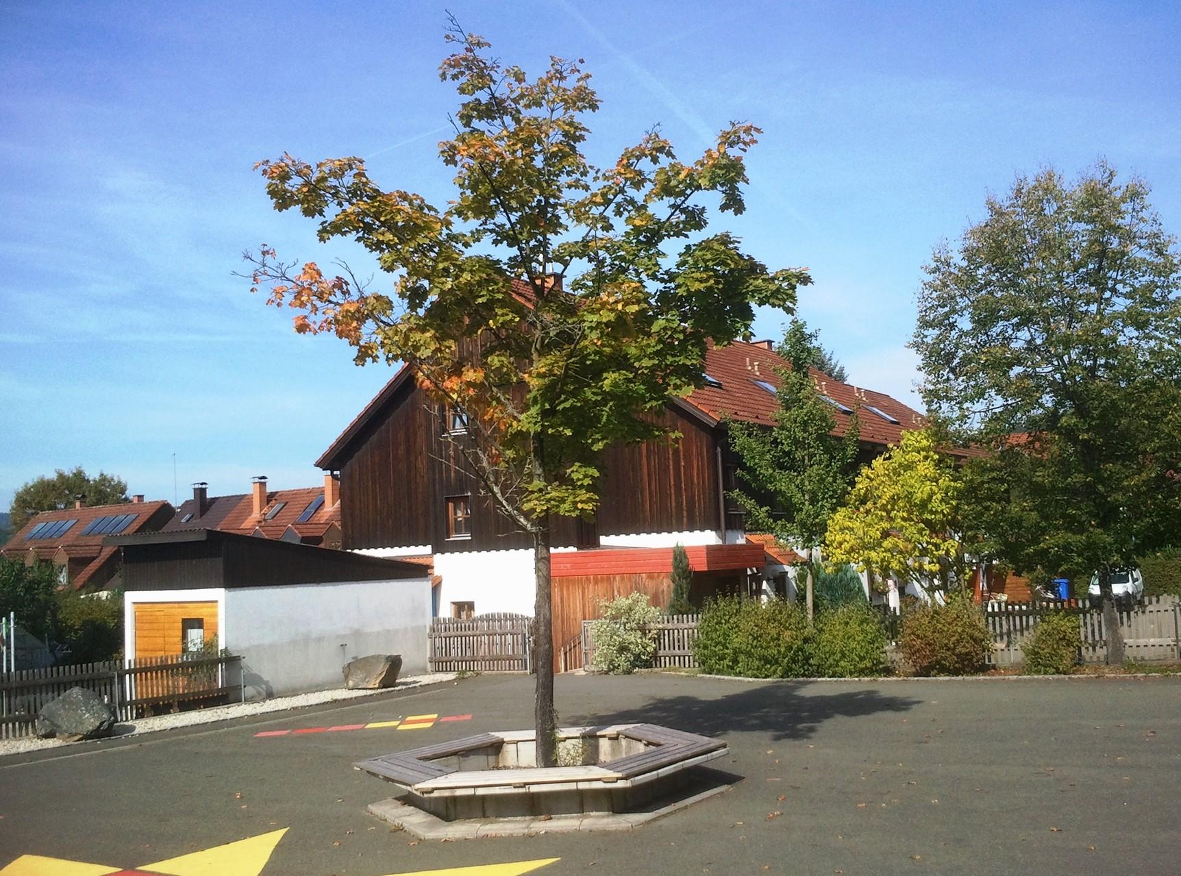 Grundschule Ziegelhütten: Der Pausenhof