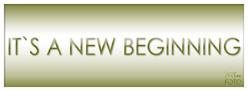 It´s an new beginning  [Alex Dieken]