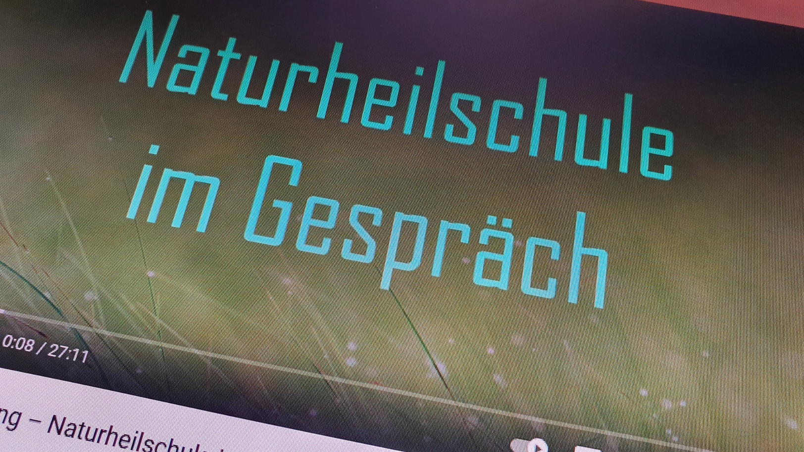 """Podcast """"Naturheilschule im Gespräch"""""""