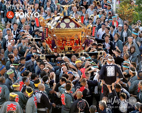 花畑大鷲神社式年大祭, 花畑大鷲神社大祭, ベルクス, 神輿, 10月8日, 写真, 画像
