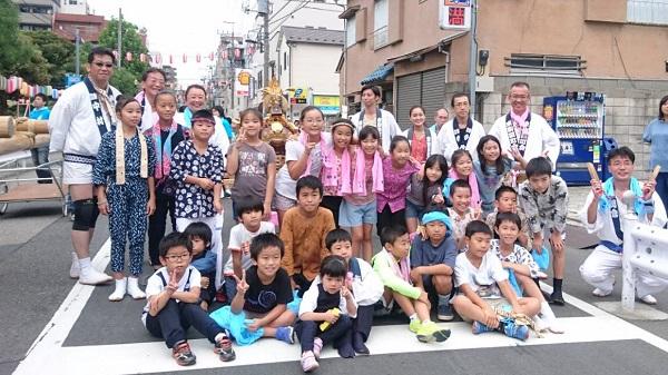 〈GP-17017〉 二郎さん:2017年 牛嶋神社大祭 東駒形四丁目神酒所前・2017年9月16日