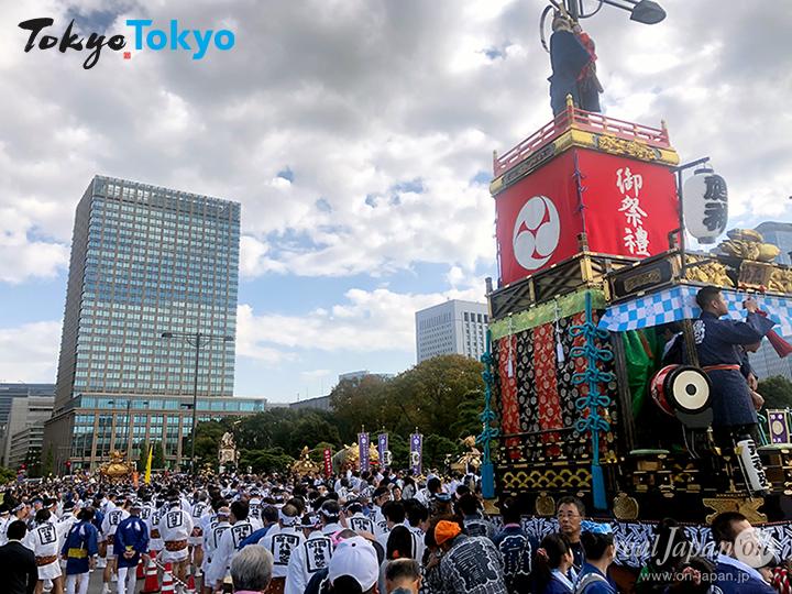 国民祭典 奉祝まつり, 令和元年 11月9日(土), 皇居前, 神輿パレード, 元禄弥山車