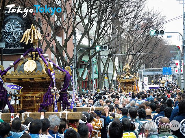 2020年度「建国祭 奉祝神輿パレード」は、来週の火曜日、2月11日(祝/建国記念日)の開催。, 青山・表参道〜原宿〜明治神宮境内に至るまで、盛大に執り行われます。